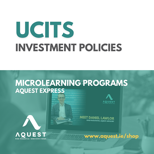 UCITS Investment Policies