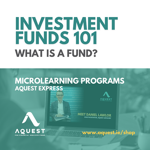 Investment Funds 101 - What is a fund?