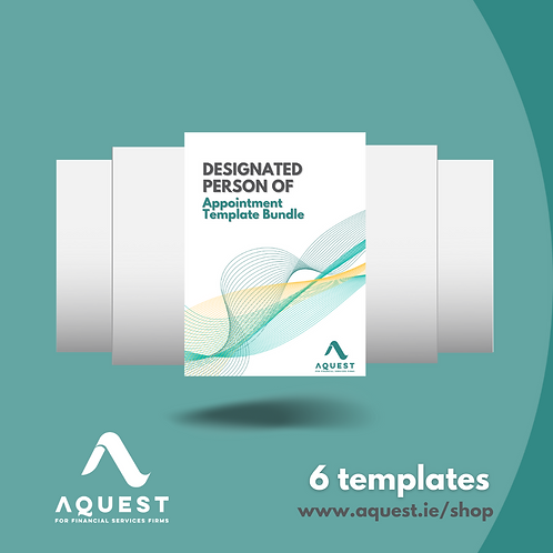 Designated Person of Appointment Template Bundle