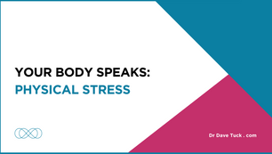 Your Body Speaks: Physical Stress