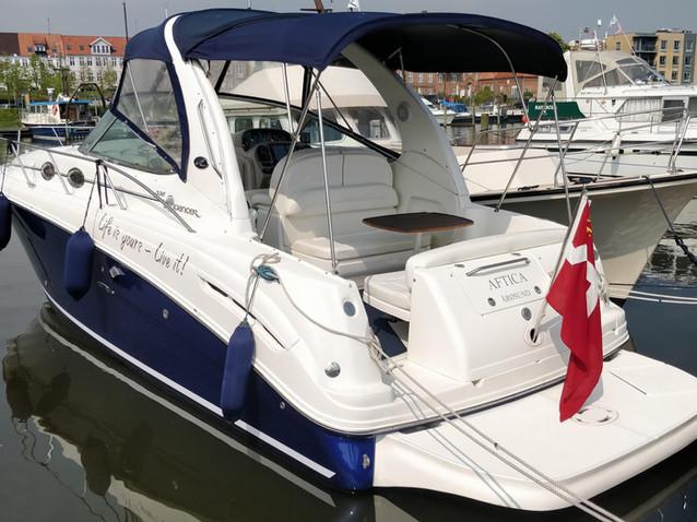 Modernisering af denne Sea Ray Sundancer 335