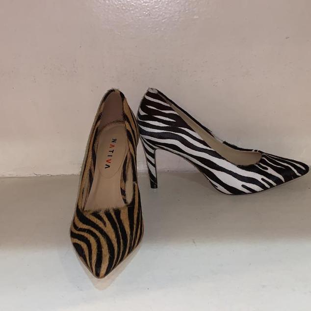 Scarpin Zebra Basico