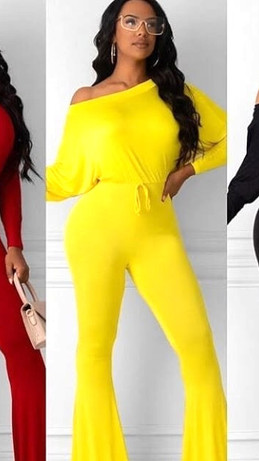 Casual Front Tie Jumpsuits in Multiple Colors