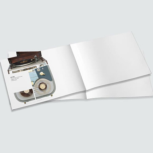 4 page Leaflet