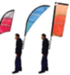 people flags