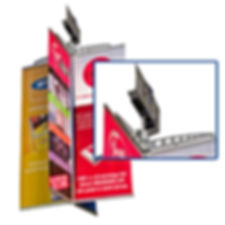 automatic turn roof mount banner