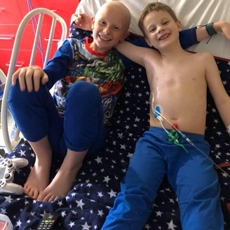 Leo and Olivers battle against Childhood Cancer