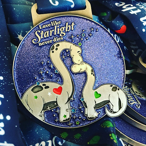 *END OF LINE LUCY LOCKET FOOTPRINTS IN THE STARS MEDAL*