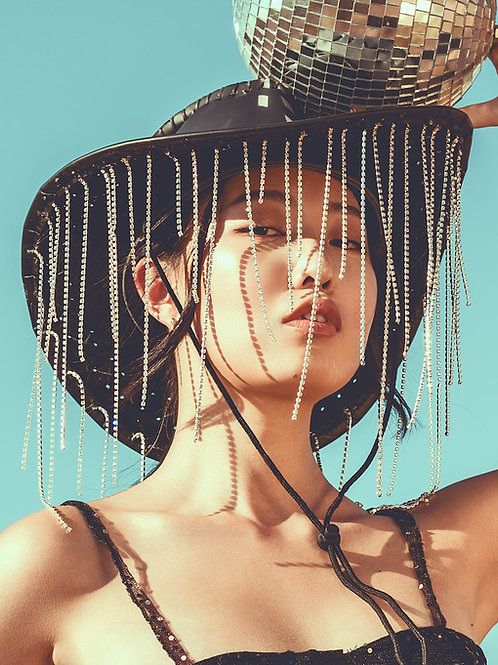 Annabelle Cowboy Hat (Rhinestone Style)