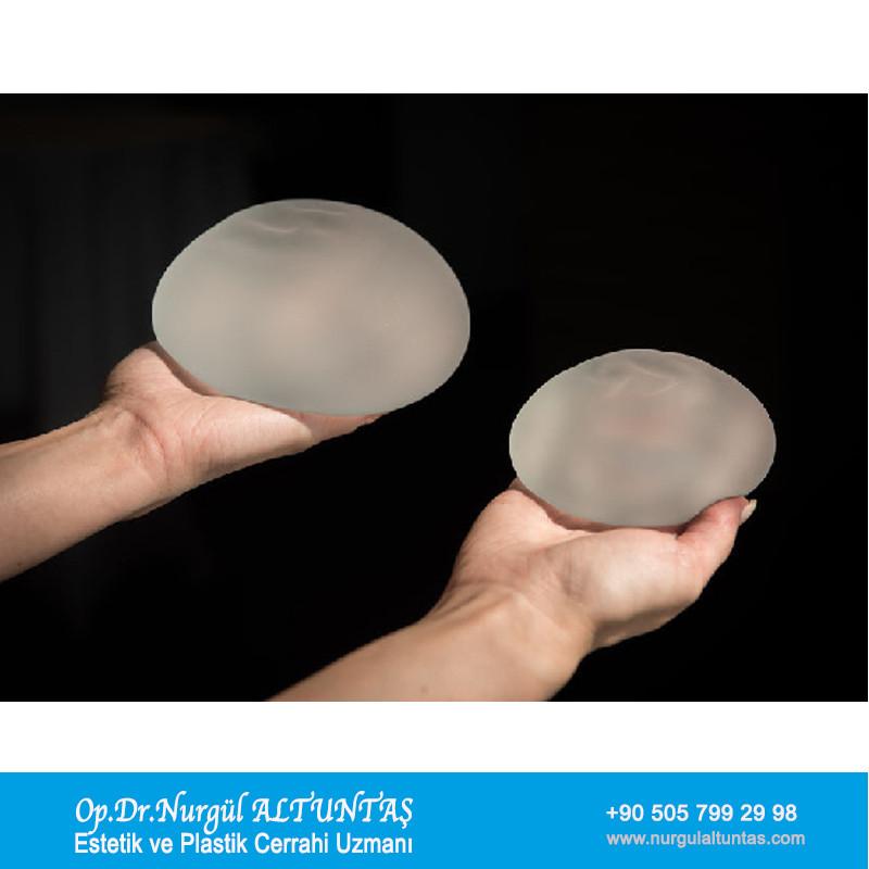 silikon meme protezi