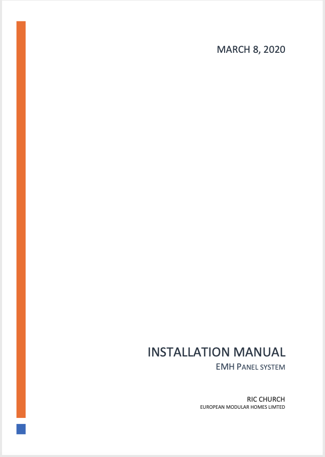 EMH Installation Manual