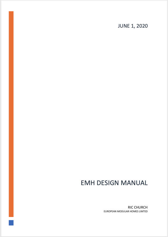 EMH Design Manual
