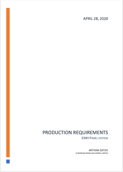 EMH Production Requirements