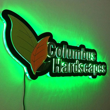 LED Dimensional Sign