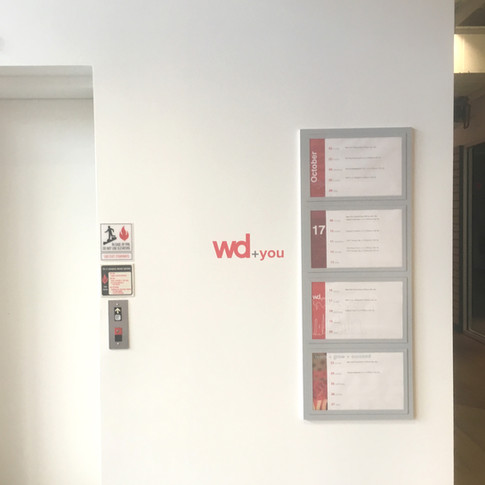 Wayfinding Elevator Display