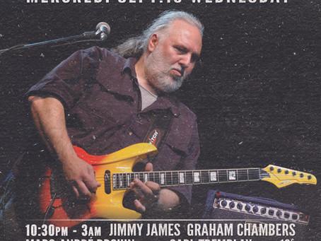 40e Anniversaire: JIMMY JAMES, GRAHAM CHAMBERS ft. CARL TREMBLAY 40th Anniversary