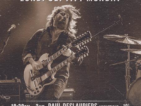 40e Anniversaire: Soir Acoustique PAUL DESLAURIERS Unplugged, 40th Anniversary
