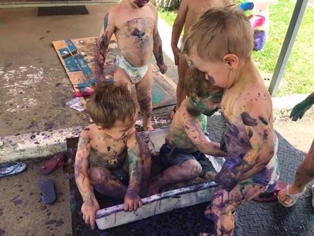 Muita bagunça no Dia das Crianças