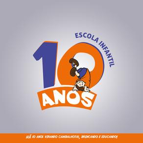 Escola Cambalhota 10 anos