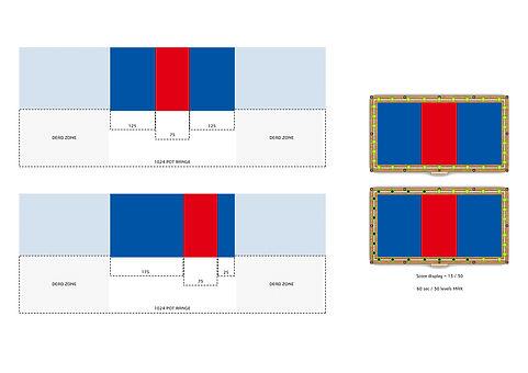level and motion of range balance board.