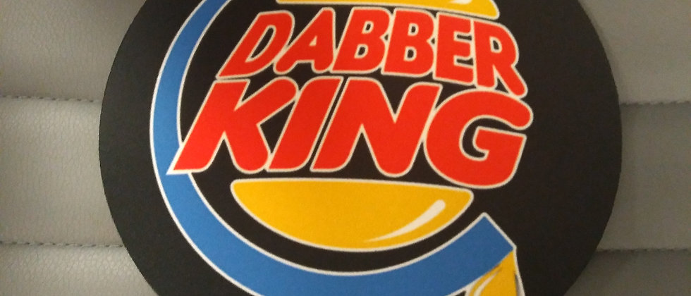 "8"" Dabbler King Dab Mat"