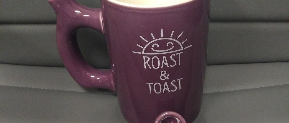 Purple Roast & Toast Mug