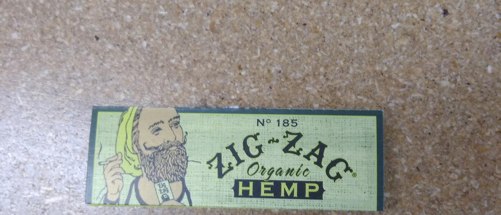 Zig Zag Organic Hemp 1.25 Rolling Papers