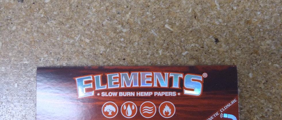 Elements Slow Burn 1.25 Hemp Papers