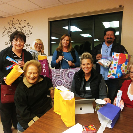 Donation for the Conejo Valley homeless