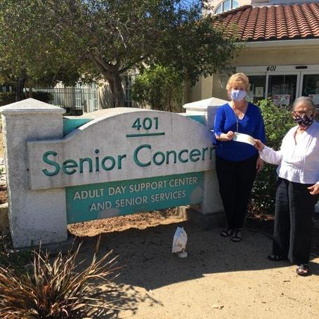 Westlake Women's Club Donates to Senior Concerns