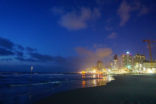 The Sky and the Sea by Tel Aviv