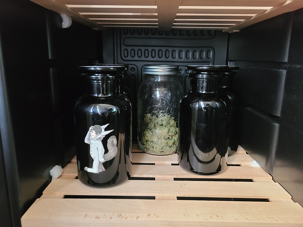 Infinity Jars and Mason Jars are great options for storing!