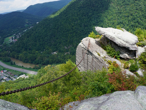 The Chained Rock of Pine Mountain