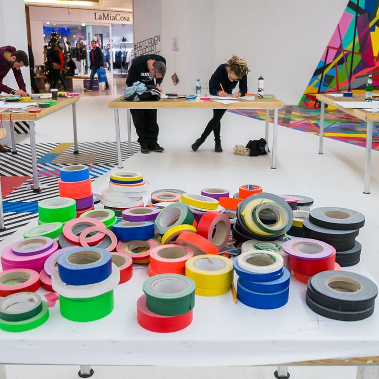 OKTOBER Tape Art Workshop