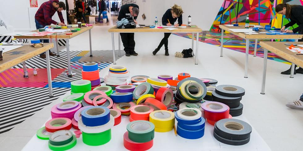 AUGUST Tape Art Workshop