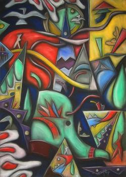 Karma (à  Solta) 100x70 2010.jpg