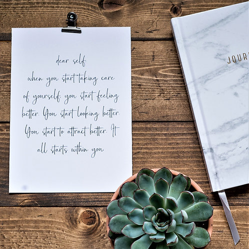 Dear Self:
