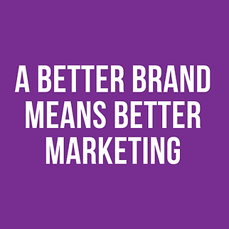 A better brand means better marketing.pn