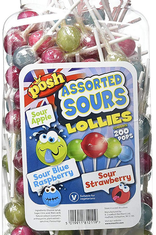 Assorted Sour Lollies
