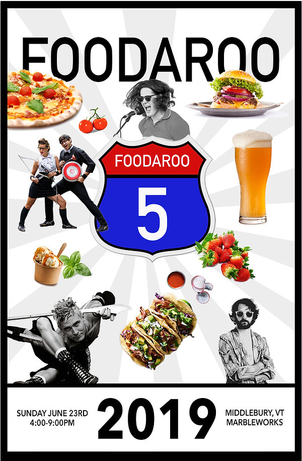 FOODAROO 5 POSTER JPG Medium Sign 8x11.j