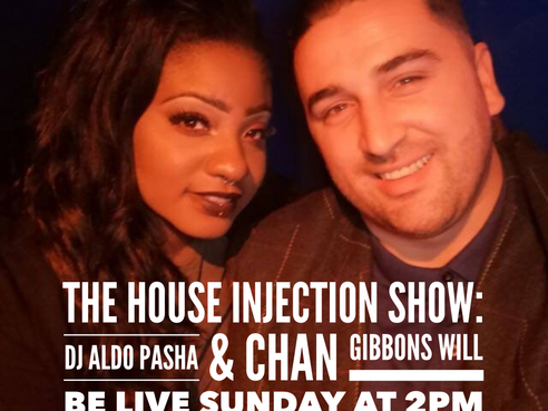 BRAND-NEW LIVE STREAM called: 'The House INjection Show' on Facebook & Instagram Sunday's at 2PM!!