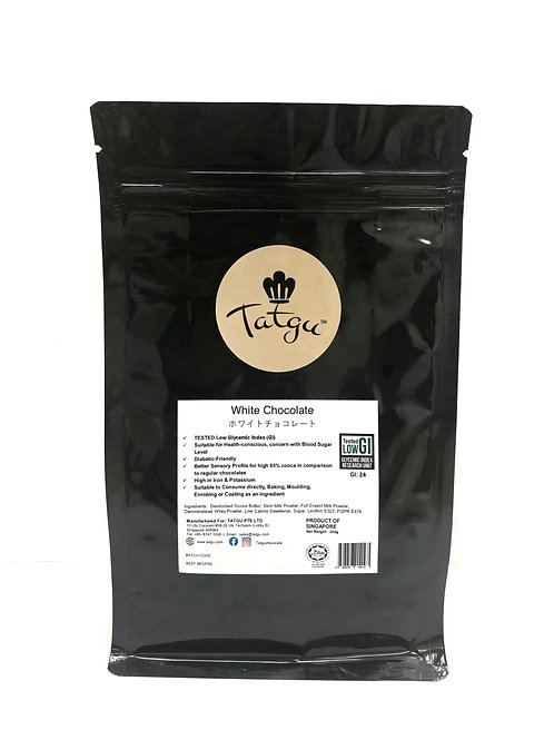 White Chocolate Couverture: 250g Bag