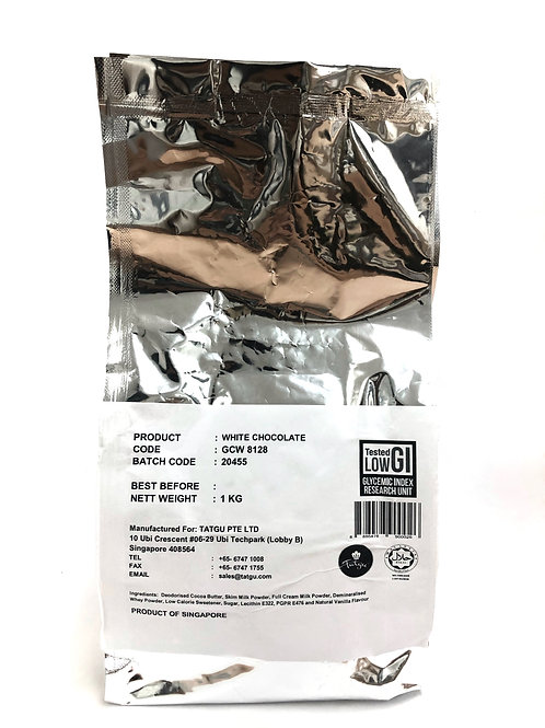 White Chocolate Couverture - 1kg Bag