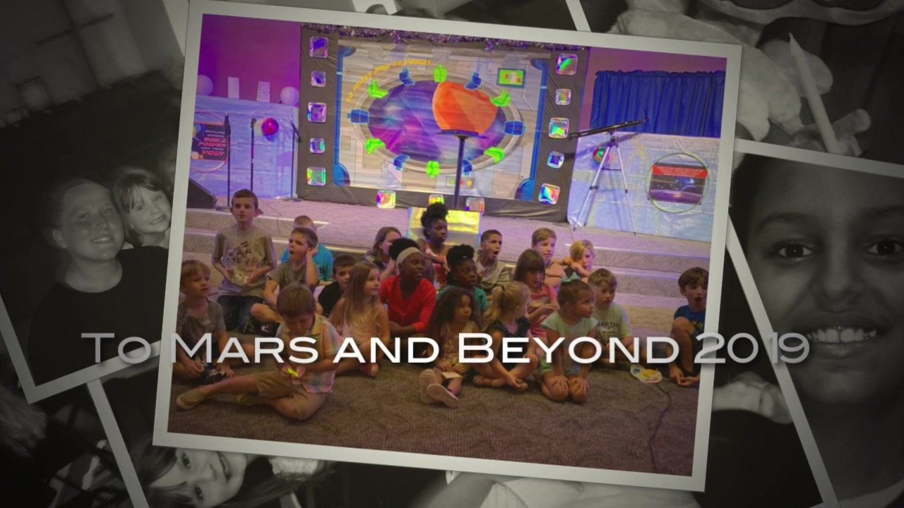 To Mars and Beyond Slideshow (VBS 2019)