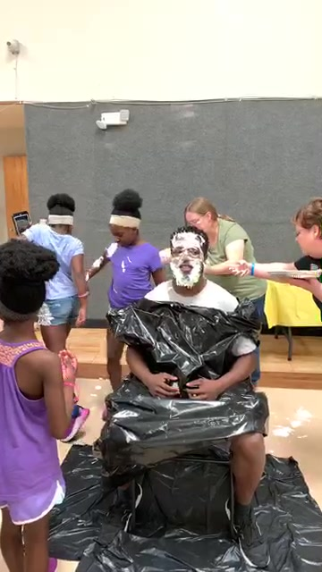 Who won the VBS giving challenge? Girls or Boys. Who will get the pie in the face?