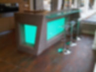 bar lumineux