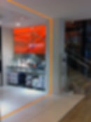 bande lumineuse boutique