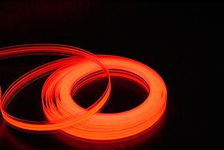 bande lumineuse rouge