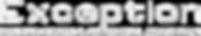 Logo Exception Blc fd noir 2019 + baseli