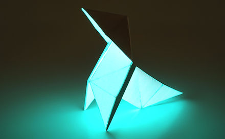 origami lumineux